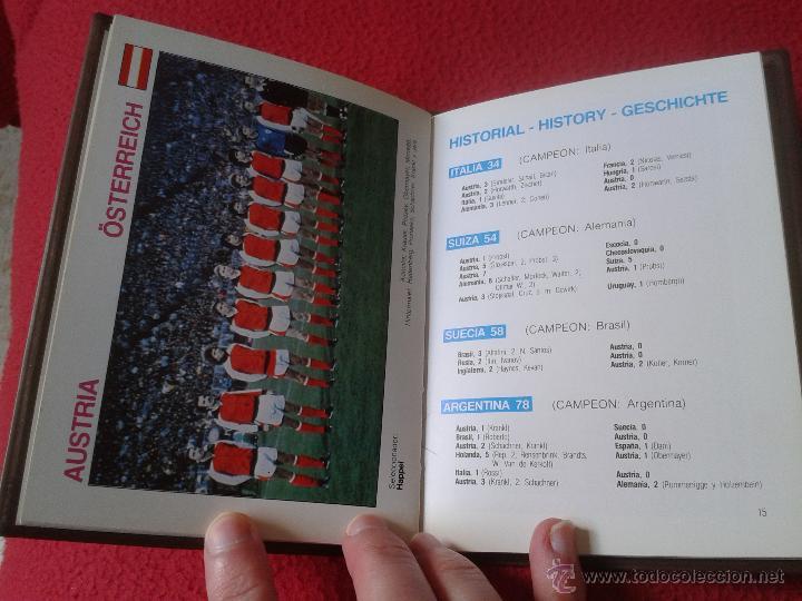 Coleccionismo deportivo: INTERESANTE GUIA LIBRO MUNDI-GUIA CYS COPA MUNDIAL 1982 DE FUTBOL FIFA BUEN ESTADO - Foto 4 - 41508618