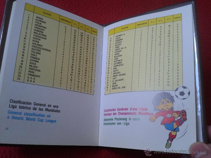 Coleccionismo deportivo: INTERESANTE GUIA LIBRO MUNDI-GUIA CYS COPA MUNDIAL 1982 DE FUTBOL FIFA BUEN ESTADO - Foto 8 - 41508618