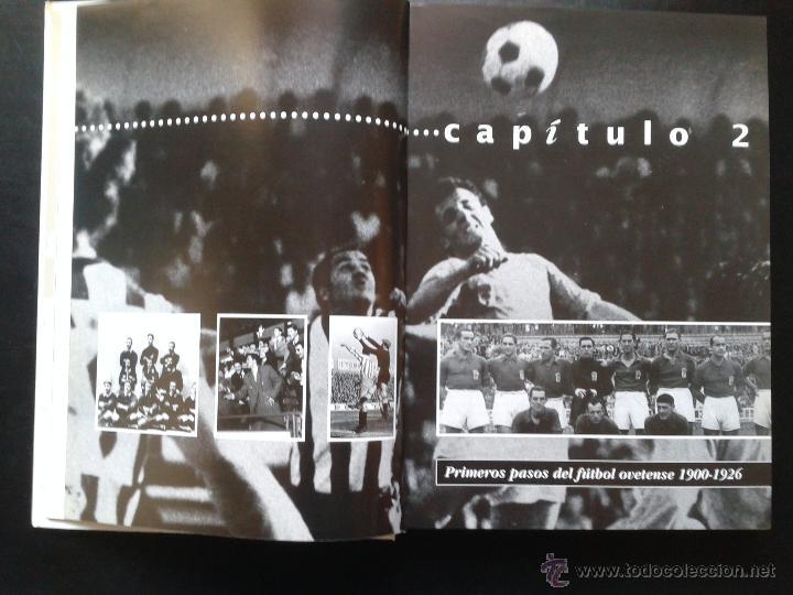Coleccionismo deportivo: EL REAL OVIEDO SU HISTORIA DE JOSE LUIS GARCIA ORDOÑEZ. - Foto 2 - 42247685