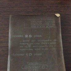 Coleccionismo deportivo: ANUARIO DINÁMICO 1970 - 1971.. Lote 42426650