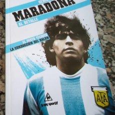 Coleccionismo deportivo: MARADONA GENIOS DEL BALON AL DETALLE N.º 5 ED. MARCA 2.012. Lote 42491507