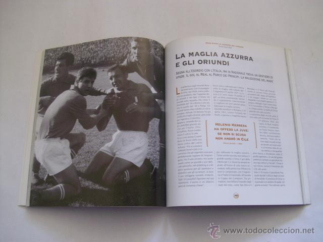 Coleccionismo deportivo: LIBRO IMPORTADO - OMAR SIVORI , LA LEGGENDA DEL CABEZON - PUBLICADO LA GAZZETTA DELLO SPORT - Foto 3 - 195434937