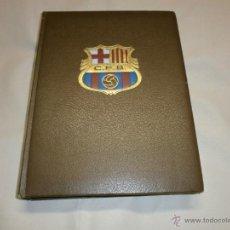 Coleccionismo deportivo: HISTORIA DEL C.DE F. BARCELONA BARCA, BARCA, BARCA - LA GRAN ENCICLOPEDIA VASCA. Lote 42664941