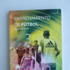 Coleccionismo deportivo: ENTRENAMIENTO DE FUTBOL. M.VANIERSCHOT.ED.PAIDOTRIBO. 2006 181 PAG. Lote 43080244