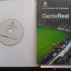 Coleccionismo deportivo: COLD - INFORME ANUAL 03/04 REAL MADRID ** GENTE REAL 84.027 SOCIOS ** + CD.**52 PAGINAS A TODO COLOR. Lote 43233154