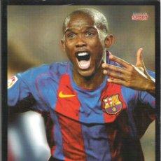 Coleccionismo deportivo: 1 LIBRO - F.C BARCELONA - SAMUEL ETO'O - RAZA DE CAMPEON . Lote 43266535
