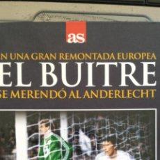 Coleccionismo deportivo: LIBRO Y DVD VICTORIA COPA UEFA DEL REAL MADRID;EMILIO BUTRAGUEÑO,EL BUITRE,12/12/1984;BUEN ESTADO. Lote 43380396