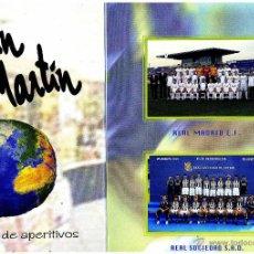 Coleccionismo deportivo: PROGRAMA FUTBOL PROGRAMME FOOTBALL TORNEO CASABLANCA 2006 REAL MADRID SOCIEDAD. Lote 43427977
