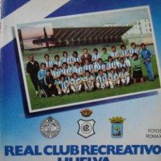 Coleccionismo deportivo: REAL CLUB RECREATIVO HUELVA.PLACIDO LLORDEN.1978.274 PG FOTOS.FUTBOL. Lote 43507332