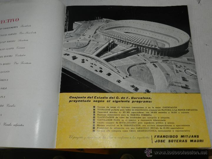 Coleccionismo deportivo: CF BARCELONA - INAUGURACION ESTADIO, PROGRAMA, ILUSTRADO, SEÑALES DE USO - Foto 2 - 44373870