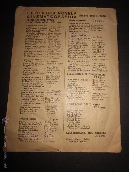 Coleccionismo deportivo: BIOGRAFIAS DE LOS JUGADORES DEL C.F.BARCELONA- CAMPEON CAMPEONATO NACIONAL DE LIGA 1947-48-ED. ALAS - Foto 5 - 44378351