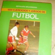 Coleccionismo deportivo: 1000 EJERCICIOS Y JUEGOS DE FUTBOL (BARCELONA, 1998). Lote 44528844
