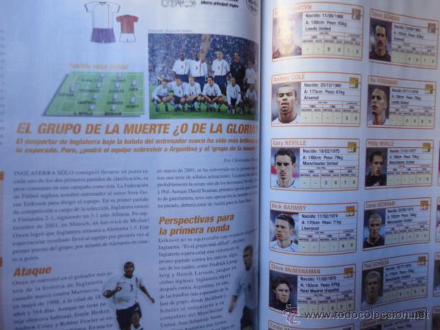 Coleccionismo deportivo: GUIA OFICIAL COPA MUNDIAL FUTBOL FIFA 2002 KOREA JAPON - Foto 2 - 44653443