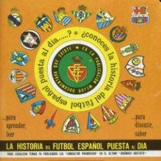 LA HISTORIA DEL FUTBOL ESPAÑOL PUESTA AL DIA - TOMO 20