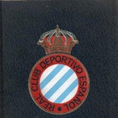 Coleccionismo deportivo: 1204 LIBRO DE REAL CLUB DEPORTIVO ESPAÑOL EDITORIAL GRAN ENCICLOPEDIA VASCA 431 HOJAS VER FOTOS. Lote 45371137