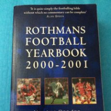 Coleccionismo deportivo: ROTHMANS FOOTBALL YEARBOOK 2000 - 2001. Lote 45798007