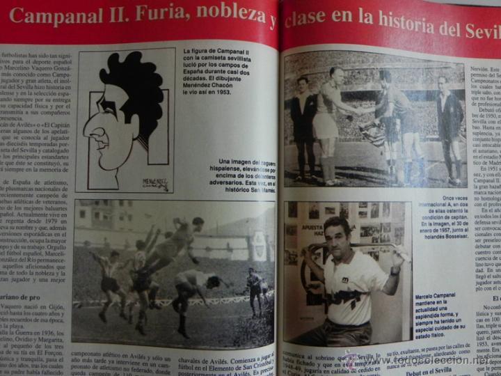 Coleccionismo deportivo: HISTORIA VIVA DEL SEVILLA FC - ABC FOTOS HISTÓRICAS FÚTBOL CLUB JUGADORES DATOS SFC - DEPORTE LIBRO - Foto 3 - 46640248