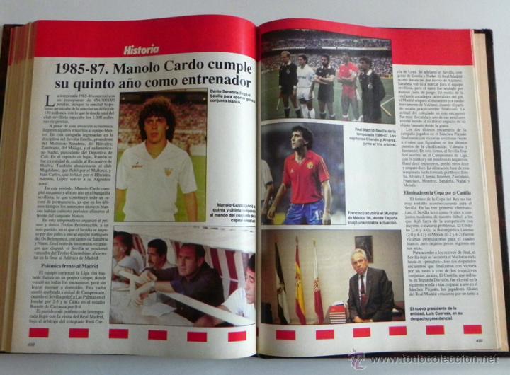 Coleccionismo deportivo: HISTORIA VIVA DEL SEVILLA FC - ABC FOTOS HISTÓRICAS FÚTBOL CLUB JUGADORES DATOS SFC - DEPORTE LIBRO - Foto 4 - 46640248
