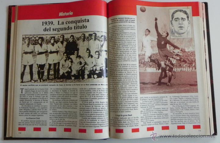 Coleccionismo deportivo: HISTORIA VIVA DEL SEVILLA FC - ABC FOTOS HISTÓRICAS FÚTBOL CLUB JUGADORES DATOS SFC - DEPORTE LIBRO - Foto 5 - 46640248