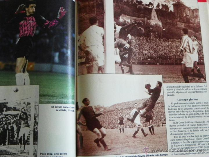 Coleccionismo deportivo: HISTORIA VIVA DEL SEVILLA FC - ABC FOTOS HISTÓRICAS FÚTBOL CLUB JUGADORES DATOS SFC - DEPORTE LIBRO - Foto 6 - 46640248