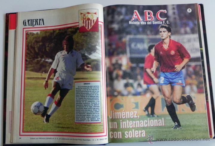 Coleccionismo deportivo: HISTORIA VIVA DEL SEVILLA FC - ABC FOTOS HISTÓRICAS FÚTBOL CLUB JUGADORES DATOS SFC - DEPORTE LIBRO - Foto 10 - 46640248