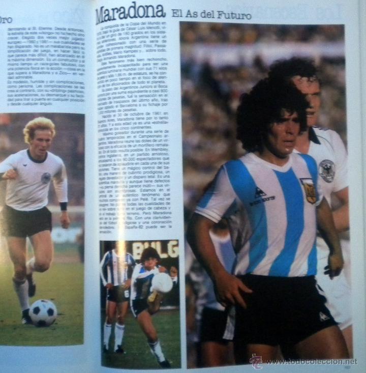 Coleccionismo deportivo: COPA DEL MUNDO DE FUTBOL ESPAÑA 82. JUAN JOSE CASTILLO-JOSE Mª CASANOVAS. EL LIBRO DEL MUNDIAL 1982 - Foto 2 - 127035207