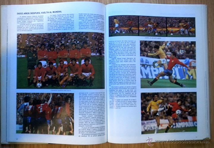 Coleccionismo deportivo: COPA DEL MUNDO DE FUTBOL ESPAÑA 82. JUAN JOSE CASTILLO-JOSE Mª CASANOVAS. EL LIBRO DEL MUNDIAL 1982 - Foto 3 - 127035207