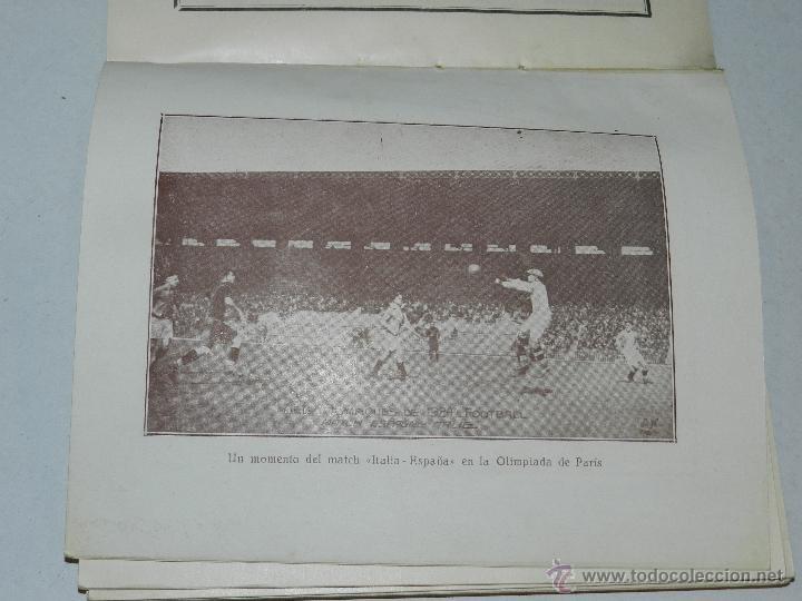 Coleccionismo deportivo: LIBRO - ALMANAQUE DE FOOT-BALL 1924 - 1925 , POR PUIG DE BACARDI, EDUARDO FELIU, MUY ILUSTRADO - Foto 3 - 47240326