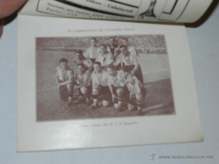 Coleccionismo deportivo: LIBRO - ALMANAQUE DE FOOT-BALL 1924 - 1925 , POR PUIG DE BACARDI, EDUARDO FELIU, MUY ILUSTRADO - Foto 5 - 47240326