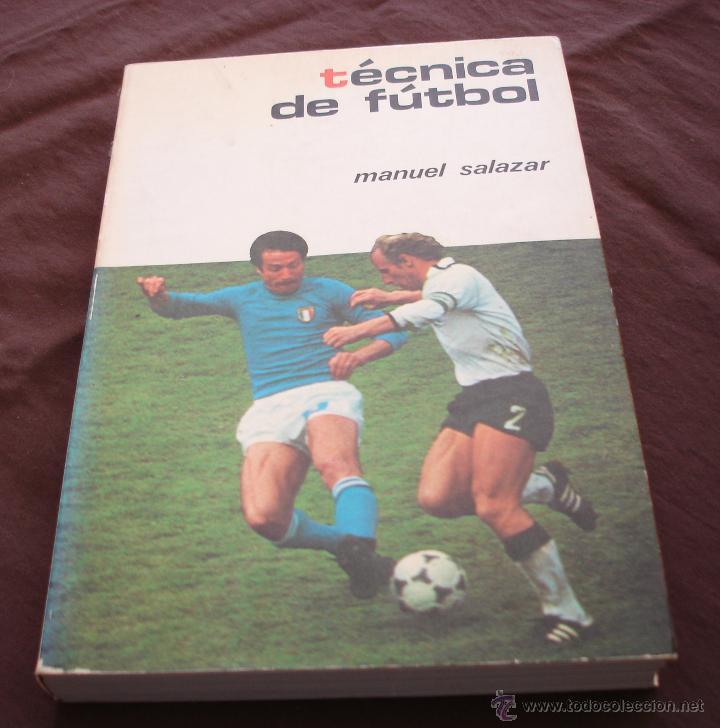 TECNICAS DE FÚTBOL - MANUEL SALAZAR.- COLECCIÓN HERAKLES, 1981 (Coleccionismo Deportivo - Libros de Fútbol)