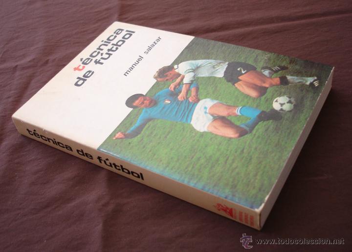 Coleccionismo deportivo: TECNICAS DE FÚTBOL - MANUEL SALAZAR.- COLECCIÓN HERAKLES, 1981 - Foto 2 - 47584221