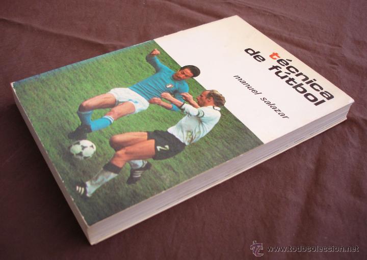 Coleccionismo deportivo: TECNICAS DE FÚTBOL - MANUEL SALAZAR.- COLECCIÓN HERAKLES, 1981 - Foto 3 - 47584221