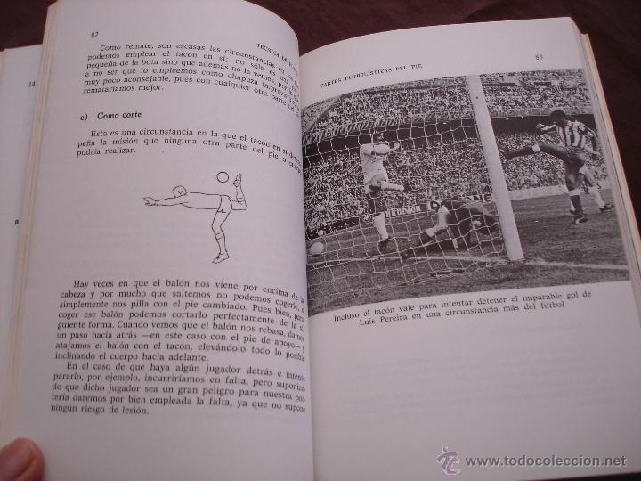 Coleccionismo deportivo: TECNICAS DE FÚTBOL - MANUEL SALAZAR.- COLECCIÓN HERAKLES, 1981 - Foto 4 - 47584221