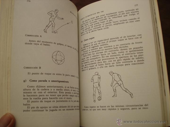 Coleccionismo deportivo: TECNICAS DE FÚTBOL - MANUEL SALAZAR.- COLECCIÓN HERAKLES, 1981 - Foto 5 - 47584221