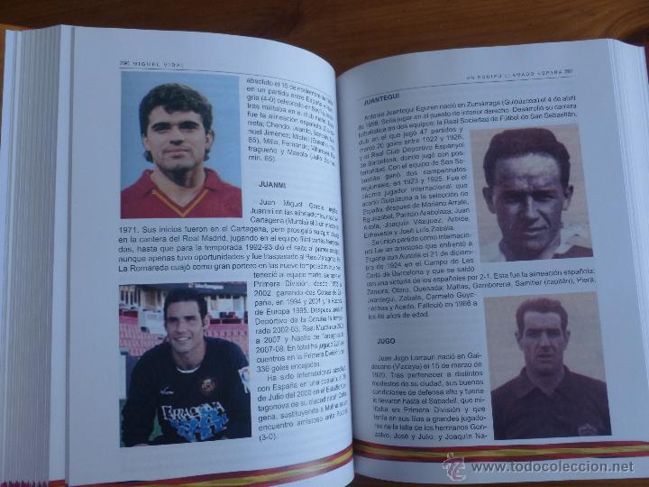 Coleccionismo deportivo: UN EQUIPO LLAMADO ESPAÑA. MIGUEL VIDAL. 2012 651 PAG - Foto 2 - 47865910