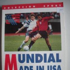 Coleccionismo deportivo: LIBRO DEL MUNDIAL MADE IN USA -. Lote 47878936