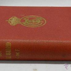 Coleccionismo deportivo: LIBRO DE ORO DEL REAL MADRID CLUB DE FÚTBOL. 1902-1952 - SAINZ DE ROBLES, FEDERICO CARLOS (DIRECTOR). Lote 48334877