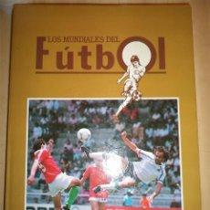 Coleccionismo deportivo: LOS MUNDIALES DE FUTBOL LIBRO DE FASCÍCULOS COMPLETO PUBLICADO POR EPIPRESS EN 1.990 ENCUADERNADO EN. Lote 48542797