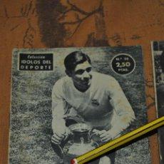 Coleccionismo deportivo: IDOLOS DEL DEPORTE. 1958. MARQUITOS. MARCOS ALONSO IMAZ. REAL MADRID *. Lote 49210940
