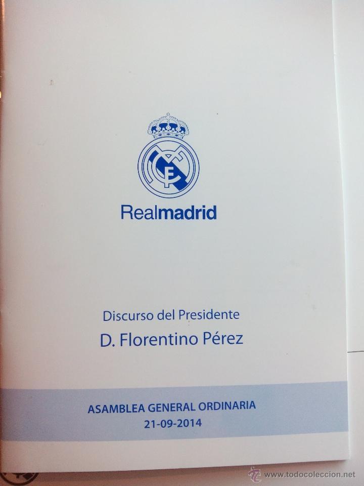 Coleccionismo deportivo: LOTE : LIBRO ALFREDO DI STÉFANO, HISTORIA DE UNA LEYENDA + INFORME ANUAL REAL MADRID 2015 - Foto 2 - 49406031