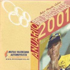 Coleccionismo deportivo: ** CD70 - ANUARIO DEL DEPORTE VALENCIANO 2001. PEDRO MORATA CALVO - VERSION CD. Lote 49744888