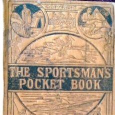 Coleccionismo deportivo: THE SPORTMAN'S POCKET BOOK, CALENDARIO DEPORTIVO, FUTBOL 1883,1884. Lote 49929038