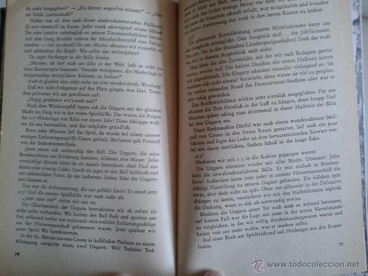 Coleccionismo deportivo: spiele die ich nie vergesse,,, FÚTBOL,,,FRITZ WALTER ,1955 - Foto 4 - 50035782