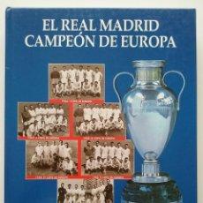 Coleccionismo deportivo: EL REAL MADRID CAMPEÓN DE EUROPA - COLECCIONABLE ABC - COMPLETO Y ENCUADERNADO. Lote 50077953