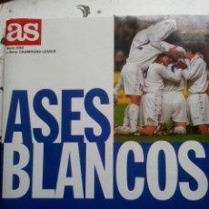 Coleccionismo deportivo: ASES BLANCOS (DIARIO AS) -EL ÁLBUM DE LA LEYENDA EUROPEA. Lote 50230887