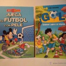 Coleccionismo deportivo: JUEGA AL FUTBOL CON PELÉ. TÉCNICA E INTRODUCCIÓN: PELÉ. ¡GOL! ÉXAMEN SOBRE EL CÉSPED. GARLANDO, L.. Lote 50661637