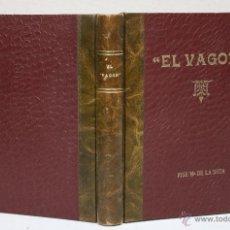 Coleccionismo deportivo: LOTE DE 3 ALBUMES DE LA SOCIEDAD EL VAGON. BILBAO. AÑOS 60. CREADA PARA ANIMAR AL ATHLETIC DE BILBAO. Lote 51360424