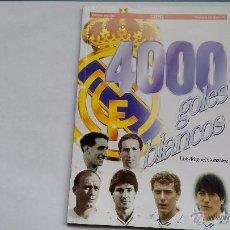 Coleccionismo deportivo: LIBRO 400 GOLES BLANCOS DE AS TODOS LOS GOLES DEL REAL MADRID . Lote 51932618