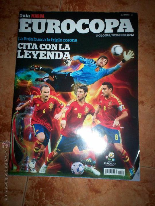 GUIA MARCA EUROCOPA POLONIA UCRANIA 2012 (Coleccionismo Deportivo - Libros de Fútbol)