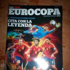 Coleccionismo deportivo: GUIA MARCA EUROCOPA POLONIA UCRANIA 2012. Lote 52130236
